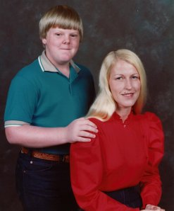 Me and Mama when I was in 5th Grade.
