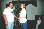 Our first Christmas Married, December 1996.