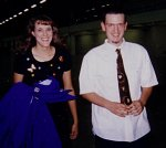 Mike and Joy. Two of my all time, anywhere favorite students and people. I officiated at their wedding.