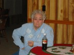 My Great-Aunt Betty on Christmas Eve 2003