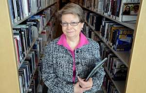 This is Ms. Beverly James. She ordered a book banned after her materials review committee upheld it.