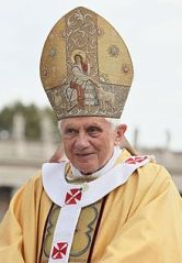 Pope Benedict XVI is set to retire 28 February 2013.