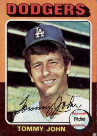 The Guinea Pig Tommy John in 1975,  his rehab year.