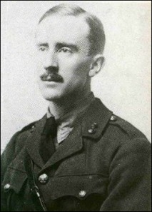 2nd Lt JRR Tolkien, 1916